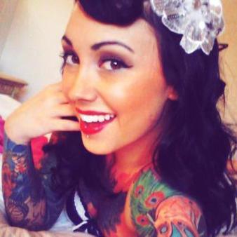[GOREJESS] JESS :: Inked Girls :: Tattooed Girls Model Search   Ink Inspired   Scoop.it