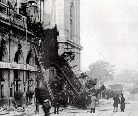 Gare Paris Montparnasse - 1895 | Glanages & Grapillages | Scoop.it