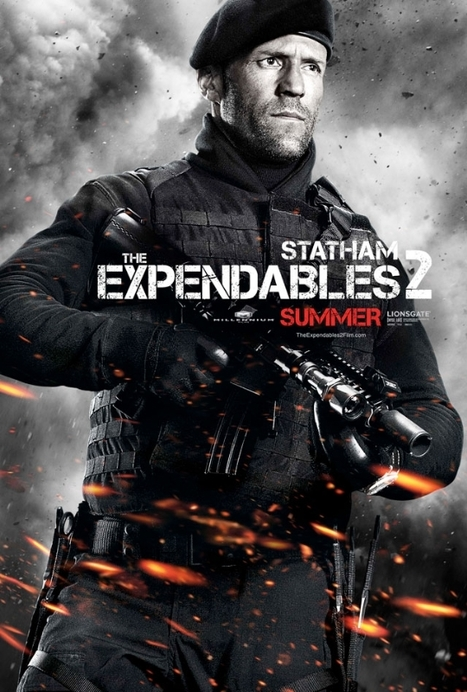 Expendables 2 Character Posters Blast In | News | Empire | Sharing Is Caring | Scoop.it