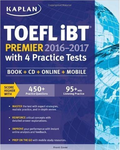 Free Download Kaplan TOEFL iBT Premier 2016-201
