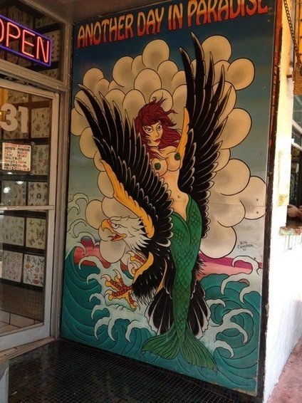 Mermaid Mural Must Come Down, Miami Beach Tells Washington Avenue's Tattoos by Lou | Midnight Rambler | Scoop.it