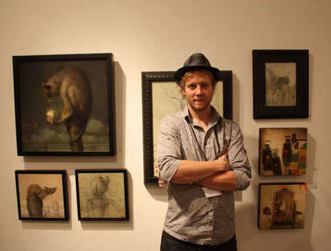 Martin Wittfooth | Heart is a Lock, Music is the Key | Scoop.it