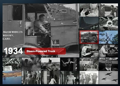 Stock Footage Archival Video Clips and Historic Photo Images from CriticalPast   21st Century Homeschooling   Scoop.it
