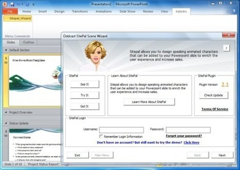 Animated Avatars for PowerPoint Presentations | PowerPoint Presentation | bLearning | Scoop.it