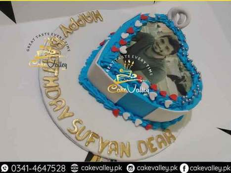 Printed Edible Picture Cake In Lahore Islamabad Faisalabad Pakistan
