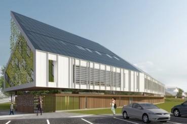 Une bibliothèque au bilan énergétique nul   Stéphane Champagne   Énergie renouvelable   ABCDaire : architecture, bibliothèque, culture, design   Scoop.it