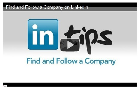 LinkedIn Follow Button: Companies, Look Who's Following You Now | LinkedIn Marketing Strategy | Scoop.it