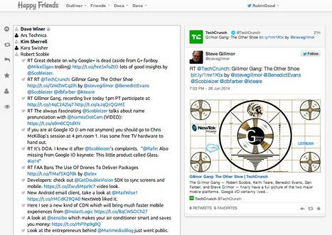 Curate and Follow Your Key Favorite Twitter Sources with Happy Friends | Content Curation World | Scoop.it