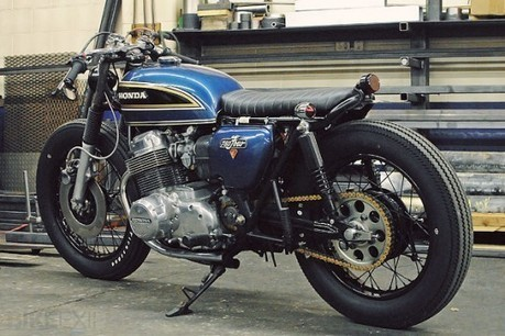 Web Find of the Day / 1975 Honda CB750 Cafe Racer | Dubai Bikers | Cafe Racer of Ohio | Scoop.it