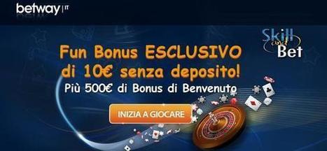 Bookmakers bonus senza deposito