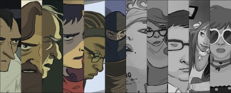 MediaEntity - Transmedia Comic Series | Young Adult and Children's Stories | Scoop.it