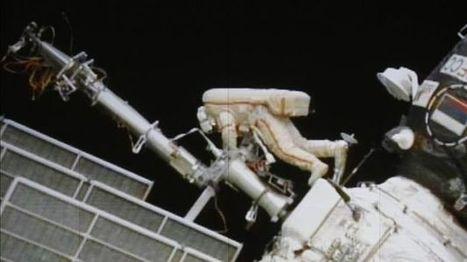 Rusia reconoce daños en una de las baterías solares de la estación espacial | One more thing | Scoop.it
