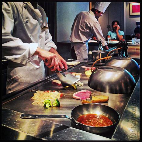 Teppanyaki : cuisson sur plaque chauffante | What makes Japan unique | Scoop.it