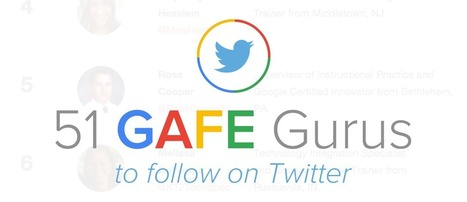 51 GAFE Gurus to Follow on Twitter | Imagine Easy Solutions | New learning | Scoop.it