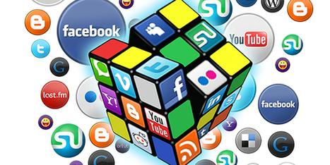 100 chiffres sur les médias sociaux en une image - Journal Facebook   Kitty news   Scoop.it
