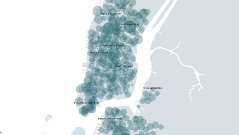 New York's Bike Sharing Scheme, Visualized | JOIN SCOOP.IT AND FOLLOW ME ON SCOOP.IT | Scoop.it