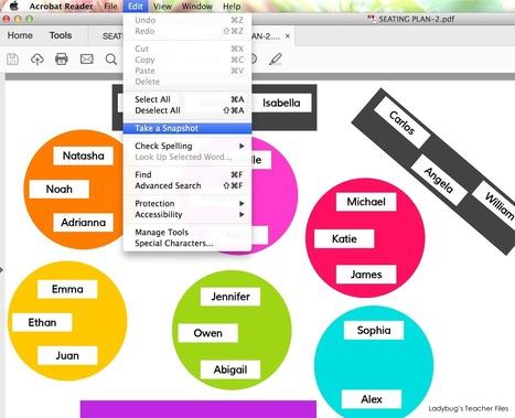 A Google Drive Interactive Seating Chart | edu-trip | Scoop.it