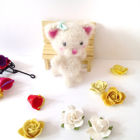 DIY Learn How to Crochet Kitty Kitten Cat Toy Amigurumi Stuffed ... | 467x467