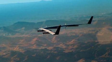 Facebook completa el primer vuelo de prueba de su avión diseñado para distribuir Internet | Uso inteligente de las herramientas TIC | Scoop.it