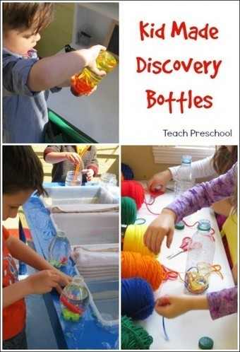 Simple child made discovery bottles | Teach Preschool | Scoop.it