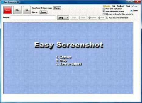Easy Screenshot, toma screenshots y envíalos a tu blog en WordPress   Recull diari   Scoop.it