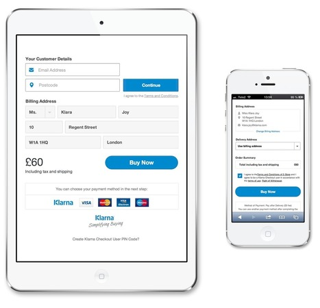 Klarna Checkout Solution   1Site2Day   Scoop.it