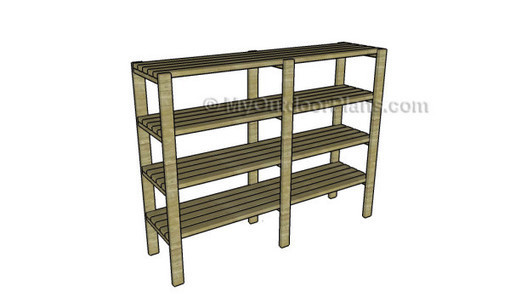 2x4 Shelving Plans Free Outdoor Plans Diy S