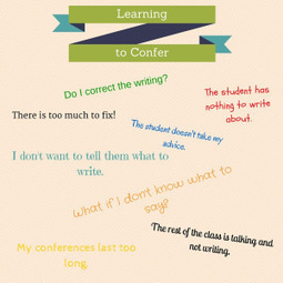 Five Words to Get You Started with Conferring | Reading, Writing, Word study, and Content Literacy | Scoop.it