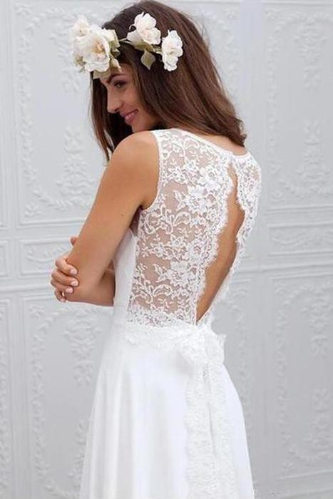 29aba895376 Mesmerising White Wedding Dress Will Steal The Show! –