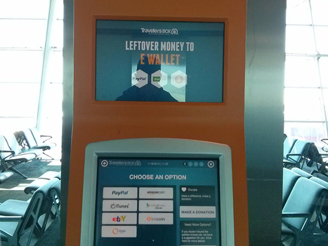 Travelers Box Turns Leftover Foreign Currency Into Bitcoin at the Airport | Instead of Money $$$ | Scoop.it
