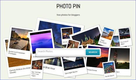Photo Pin : Moteur de recherche photos Creatives Commons pour bloggeurs | Prionomy | Scoop.it