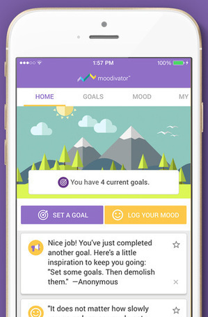 Pfizer launches Moodivator, a consumer-facing app for depression | Social Media, TIC y Salud | Scoop.it