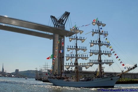 L'Armada Rouen 2013: Tall Sailing Ships will grace the Seine from 6 to 16 June for the sixth time | Armada de Rouen 2013 | Scoop.it