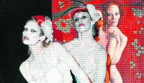 Una 'performance' de danza butoh clausura la muestra de Sola | La Danza también se escribe | Scoop.it