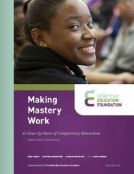 Making Mastery Work « Competency Works | 21st Century Teaching and Learning Resources | Scoop.it