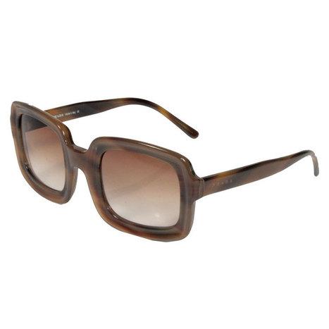 Prada SPR 01B Sunglasses 2AM-1Z1 Vintage Brown ... c7a7e61246