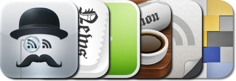 News Discovery: Best RSS Feed Readers Apps for iPad-iPhone Based Journalists and Curators | SocialMediaDesign | Scoop.it
