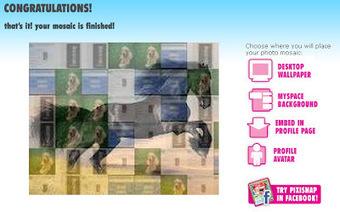 4 applications pour créer des images mosaiques gratuitement   Informatique applis innovations   Scoop.it