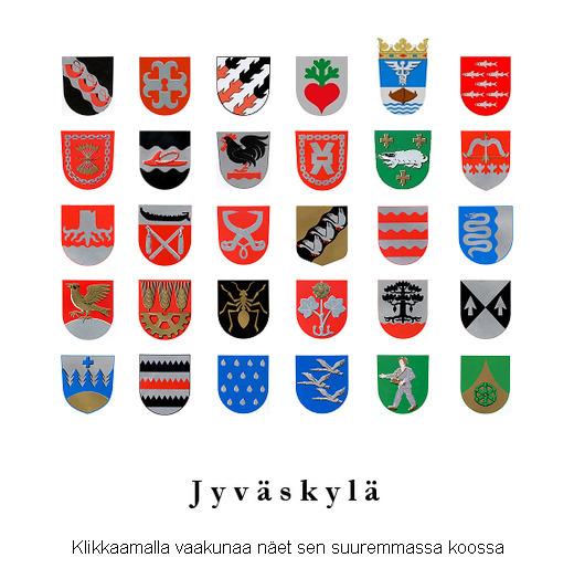 Suomen Vaakunat Kuvina