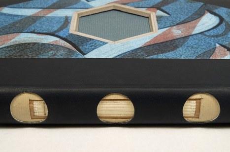 Bookmarking Book Art - Rodrigo Ortega, Artes del Libro | Books On Books | Scoop.it