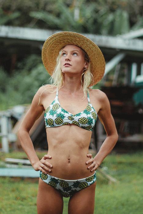 bc8ebf4fcacdd Sweet Aloha X Kohanaiki Bikini Top - Handmade Bikini Top – Hawaiian Bikini  Top