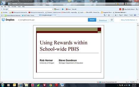 Should I use a class-wide reward system? | Positive Behavior Intervention & Supports:  Oakland County | Scoop.it