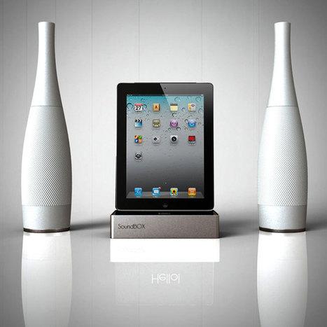 Sound Box iPad Speaker Dock Concept | All Geeks | Scoop.it