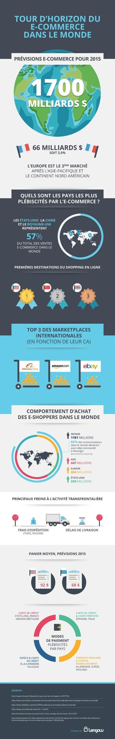 Le marché tricolore du e-commerce devrait peser 66 milliards de dollars cette année | logistique e-commerce | Scoop.it