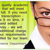 Academictranscriptionservices.com reaffirms its commitment towards on-time delivery of assignments