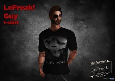 Guy T-Shirt Group Gift by LeFreak! | Teleport Hub - Second Life Freebies | Second Life Freebies | Scoop.it