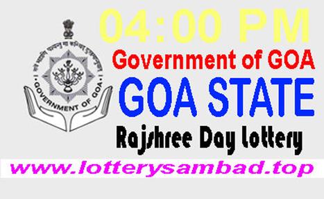 Goa State Rajshree Morning Lottery Result 19-03