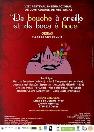O VIII Festival Internacional de Contadores de Histórias | Arte de cor | Scoop.it