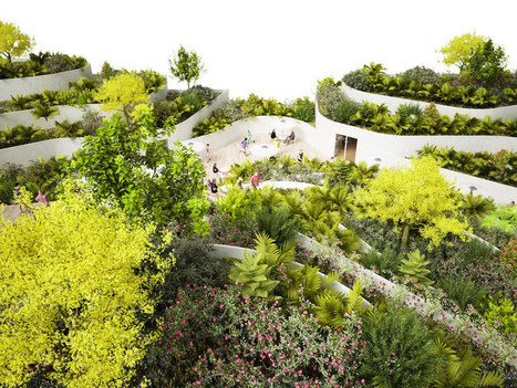 NL architects: super market sanya lake park | Vertical Farm - Food Factory | Scoop.it