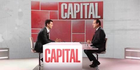 Hollande fait chuter les audiences de Capital | Lyon ma Ville | Scoop.it